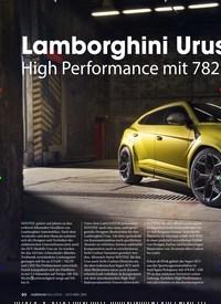 Titelbild der Ausgabe 2/2019 von Lamborghini Urus by NOVITEC. Zeitschriften als Abo oder epaper bei United Kiosk online kaufen.