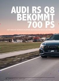 Titelbild der Ausgabe 3/2020 von AUDI RS Q8 BEKOMMT 700 PS. Zeitschriften als Abo oder epaper bei United Kiosk online kaufen.