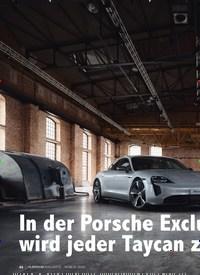 Titelbild der Ausgabe 3/2020 von In der Porsche Exclusive Manufaktur wird jeder Taycan z. Zeitschriften als Abo oder epaper bei United Kiosk online kaufen.