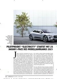 """Titelbild der Ausgabe 7/2020 von PILOTPROJEKT """"ELECTRICITY"""" STARTET MIT 25 JAGUAR I-PACE DES MODELLJAHRGANGS 2021. Zeitschriften als Abo oder epaper bei United Kiosk online kaufen."""