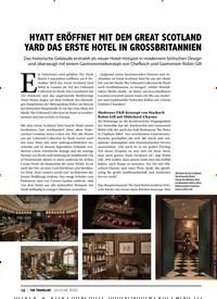 Titelbild der Ausgabe 1/2020 von CLOSE UP: HYATT ERÖFFNET MIT DEM GREAT SCOTLAND YARD DAS ERSTE HOTEL IN GROSSBRITANNIEN. Zeitschriften als Abo oder epaper bei United Kiosk online kaufen.