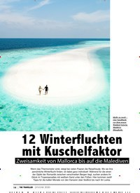 Titelbild der Ausgabe 1/2020 von CLOSE UP: 12 Winterfluchten mit Kuschelfaktor. Zeitschriften als Abo oder epaper bei United Kiosk online kaufen.