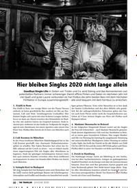 Titelbild der Ausgabe 1/2020 von CLOSE UP: Hier bleiben Singles 2020 nicht lange allein. Zeitschriften als Abo oder epaper bei United Kiosk online kaufen.