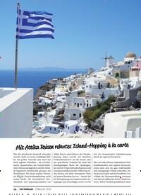Titelbild der Ausgabe 2/2020 von Mit Attika Reisen relaxtes Island-Hopping à la carte. Zeitschriften als Abo oder epaper bei United Kiosk online kaufen.