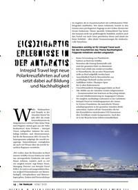 Titelbild der Ausgabe 3/2020 von EI(S)ZIGARTIG ERLEBNISSE IN DER ANTARKTIS. Zeitschriften als Abo oder epaper bei United Kiosk online kaufen.