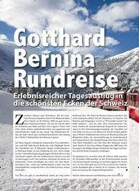 Titelbild der Ausgabe 3/2020 von Travel: Gotthard Bernina Rundreise. Zeitschriften als Abo oder epaper bei United Kiosk online kaufen.