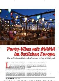 Titelbild der Ausgabe 3/2020 von TRAVEL: Party-Vibes mit MAMA im östlichen Europa. Zeitschriften als Abo oder epaper bei United Kiosk online kaufen.