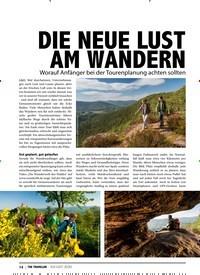 Titelbild der Ausgabe 8/2020 von DIE NEUE LUST AM WANDERN. Zeitschriften als Abo oder epaper bei United Kiosk online kaufen.