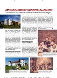 Titelbild der Ausgabe 9/2020 von HÖFISCHE PLAUDEREIEN IN PRUNKVOLLEN GEMÄUERN. Zeitschriften als Abo oder epaper bei United Kiosk online kaufen.