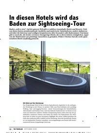 Titelbild der Ausgabe 9/2020 von WELLNESS: In diesen Hotels wird das Baden zur Sightseeing-Tour. Zeitschriften als Abo oder epaper bei United Kiosk online kaufen.