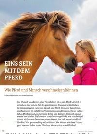 Titelbild der Ausgabe 4/2019 von EINS SEIN MIT DEM PFERD: Wie Pferd und Mensch verschmelzen können. Zeitschriften als Abo oder epaper bei United Kiosk online kaufen.