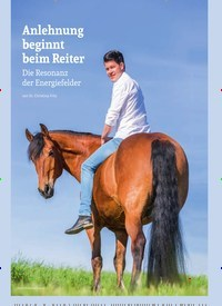 Titelbild der Ausgabe 4/2019 von Anlehnung beginnt beim Reiter. Zeitschriften als Abo oder epaper bei United Kiosk online kaufen.