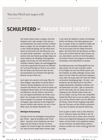 Titelbild der Ausgabe 1/2020 von KOLUMNE: Was das Pferd mir sagen will: SCHULPFERD – FREUDE ODER FRUST?. Zeitschriften als Abo oder epaper bei United Kiosk online kaufen.