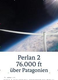 Titelbild der Ausgabe 6/2018 von Perlan 2 76.000 ft über Patagonien. Zeitschriften als Abo oder epaper bei United Kiosk online kaufen.