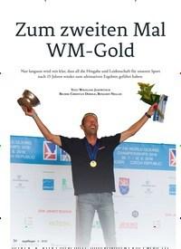 Titelbild der Ausgabe 6/2018 von Zum zweiten Mal WM-Gold. Zeitschriften als Abo oder epaper bei United Kiosk online kaufen.