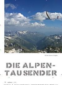 Titelbild der Ausgabe 6/2018 von Die Alpen-Tausender. Zeitschriften als Abo oder epaper bei United Kiosk online kaufen.