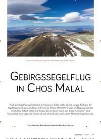 Titelbild der Ausgabe 3/2019 von GEBIRGSSEGELFLUG IN CHOS MALAL. Zeitschriften als Abo oder epaper bei United Kiosk online kaufen.