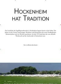 Titelbild der Ausgabe 3/2019 von HOCKENHEIM HAT TRADITION. Zeitschriften als Abo oder epaper bei United Kiosk online kaufen.