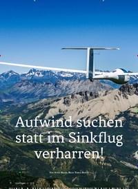 Titelbild der Ausgabe 4/2019 von Aufwind suchen statt im Sinkflug verharren!. Zeitschriften als Abo oder epaper bei United Kiosk online kaufen.