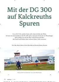 Titelbild der Ausgabe 5/2019 von Mit der DG 300 auf Kalckreuths Spuren. Zeitschriften als Abo oder epaper bei United Kiosk online kaufen.