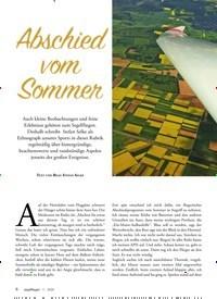 Titelbild der Ausgabe 1/2020 von Abschied vom Sommer. Zeitschriften als Abo oder epaper bei United Kiosk online kaufen.