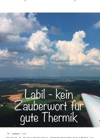 Titelbild der Ausgabe 1/2020 von Labil - kein Zauberwort für gute Thermik. Zeitschriften als Abo oder epaper bei United Kiosk online kaufen.