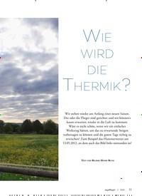 Titelbild der Ausgabe 2/2020 von WIE WIRD DIE THERMIK?. Zeitschriften als Abo oder epaper bei United Kiosk online kaufen.