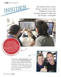 Titelbild der Ausgabe 6/2019 von BEI DER ARBEIT: INSIDER. Zeitschriften als Abo oder epaper bei United Kiosk online kaufen.