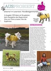 Titelbild der Ausgabe 3/2020 von AUSPROBIERT:Diesmal im Lesertest: Hunderegenmantel. Zeitschriften als Abo oder epaper bei United Kiosk online kaufen.