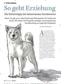 Titelbild der Ausgabe 4/2020 von TITELTHEMA: So geht Erziehung: Die Geheimtipps der bekanntesten Hundetrainer. Zeitschriften als Abo oder epaper bei United Kiosk online kaufen.
