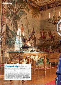Titelbild der Ausgabe 2/2019 von AUGENBLICKE: Eiserne Lady im Einsatz. Zeitschriften als Abo oder epaper bei United Kiosk online kaufen.