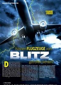Titelbild der Ausgabe 2/2019 von FRAGEN & ANTWORTEN: Können FLUGZEUGE vom BLITZ getroffen werden?. Zeitschriften als Abo oder epaper bei United Kiosk online kaufen.