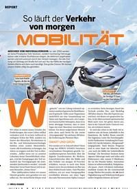 Titelbild der Ausgabe 2/2019 von So läuft der Verkehr von morgen: MOBILITÄT. Zeitschriften als Abo oder epaper bei United Kiosk online kaufen.