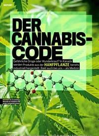 Titelbild der Ausgabe 2/2019 von DER CANNABIS-CODE. Zeitschriften als Abo oder epaper bei United Kiosk online kaufen.