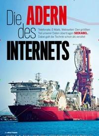 Titelbild der Ausgabe 4/2019 von Die ADERN des INTERNETS. Zeitschriften als Abo oder epaper bei United Kiosk online kaufen.