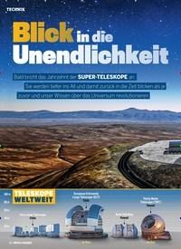 Titelbild der Ausgabe 6/2019 von Blick in die Unendlichkeit. Zeitschriften als Abo oder epaper bei United Kiosk online kaufen.