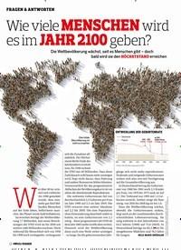 Titelbild der Ausgabe 3/2020 von FRAGEN & ANTWORTEN: Wie viele MENSCHEN wird es im JAHR 2100 geben?. Zeitschriften als Abo oder epaper bei United Kiosk online kaufen.