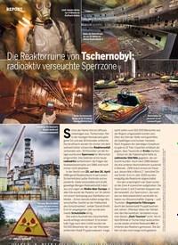 Titelbild der Ausgabe 3/2020 von Die Reaktorruine von Tschernobyl: radioaktiv verseuchte Sperrzone. Zeitschriften als Abo oder epaper bei United Kiosk online kaufen.