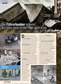 Titelbild der Ausgabe 3/2020 von Der Führerbunker in Berlin: Wo Hitler seine letzten Tage verbrachte. Zeitschriften als Abo oder epaper bei United Kiosk online kaufen.