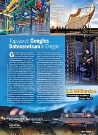 Titelbild der Ausgabe 3/2020 von Topsecret: Googles Datenzentrum in Oregon. Zeitschriften als Abo oder epaper bei United Kiosk online kaufen.