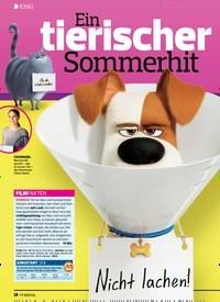 Titelbild der Ausgabe 13/2019 von KINO: Ein tierischer Sommerhit. Zeitschriften als Abo oder epaper bei United Kiosk online kaufen.