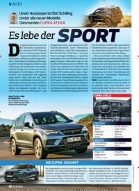 Titelbild der Ausgabe 13/2019 von AUTO: Es lebe der SPORT. Zeitschriften als Abo oder epaper bei United Kiosk online kaufen.