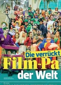Titelbild der Ausgabe 14/2019 von Die verrückteste Film-Party der Welt. Zeitschriften als Abo oder epaper bei United Kiosk online kaufen.