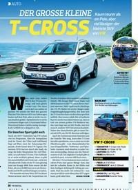 Titelbild der Ausgabe 14/2019 von AUTO: DER GROSSE KLEINET-CROSS. Zeitschriften als Abo oder epaper bei United Kiosk online kaufen.