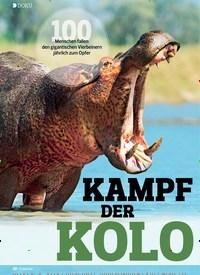 Titelbild der Ausgabe 14/2019 von DOKU: KAMPF DER KOLO SSE. Zeitschriften als Abo oder epaper bei United Kiosk online kaufen.