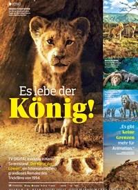 Titelbild der Ausgabe 15/2019 von KINO: Es lebe derKönig!. Zeitschriften als Abo oder epaper bei United Kiosk online kaufen.