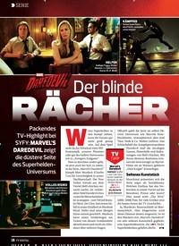 Titelbild der Ausgabe 15/2019 von SERIE: MARVEL DAREDEVIL: Der blinde RÄCHER. Zeitschriften als Abo oder epaper bei United Kiosk online kaufen.