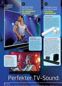 Titelbild der Ausgabe 16/2019 von Perfekter TV-Sound:SO GEHT´S!. Zeitschriften als Abo oder epaper bei United Kiosk online kaufen.