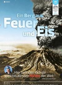Titelbild der Ausgabe 18/2019 von DOKU: Ein Berg aus Feuer und Eis. Zeitschriften als Abo oder epaper bei United Kiosk online kaufen.