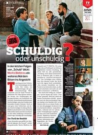 Titelbild der Ausgabe 18/2019 von TV AKTUELL: SCHULDIG oder unschuldig?. Zeitschriften als Abo oder epaper bei United Kiosk online kaufen.